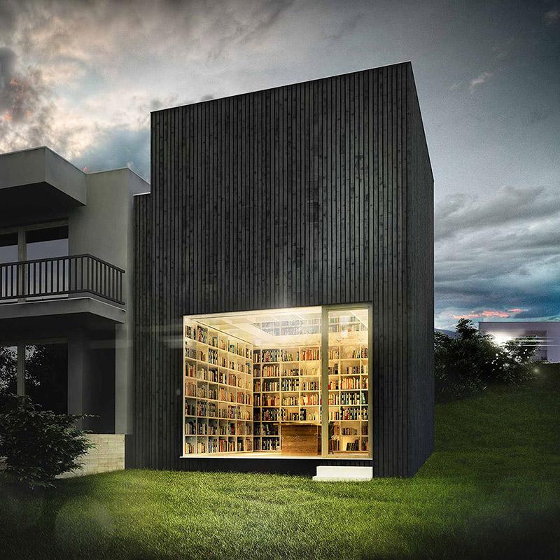 CHLADEK-ARCHITEKTI-private-library,-Zlin-Kostelec-02