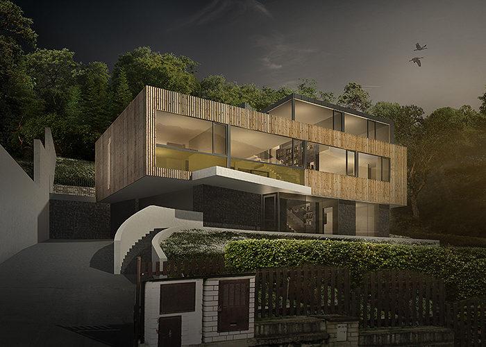 GRIMM ARCHITEKTI Zbraslav residence