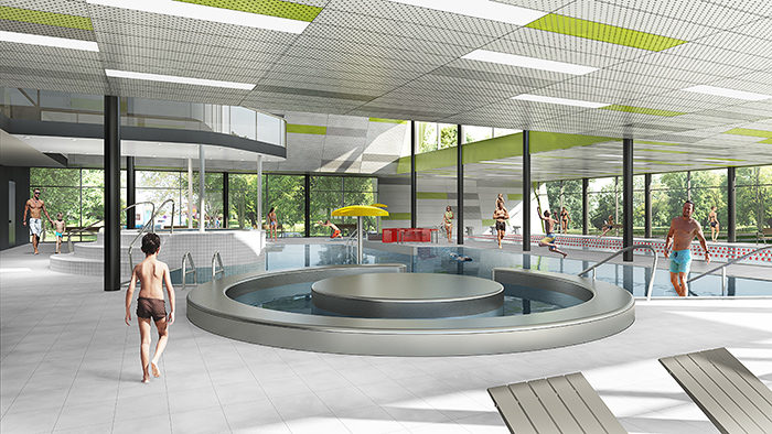 K4 Public Swimming Pool Kyjov Competition