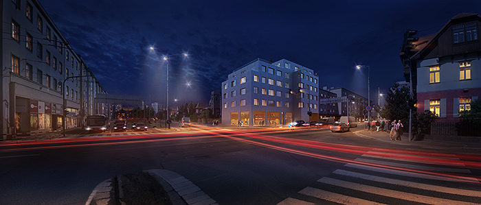 GRIMM ARCHITECTS Apartments Hradec Kralove
