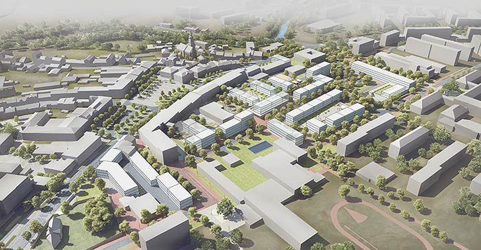 GRIMM ARCHITECTS Zdar nad Sazavou City Centre – Competition 2020